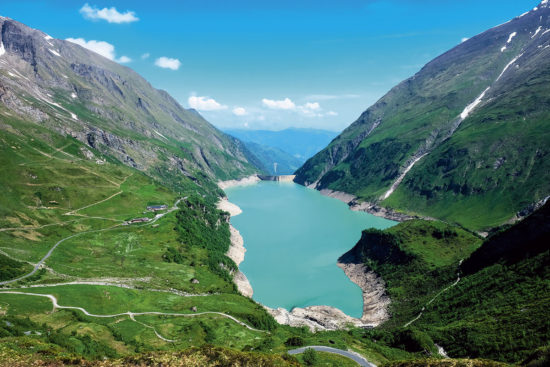 Kaprun Hochgebirgsstausee - Ausflugsziele im Salzburger Land