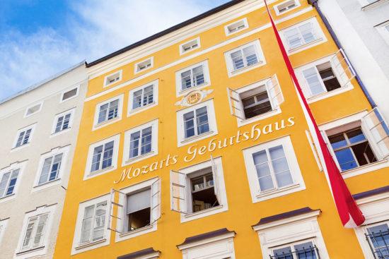 Mozart Geburtshaus - Ausflugsziele in Salzburg