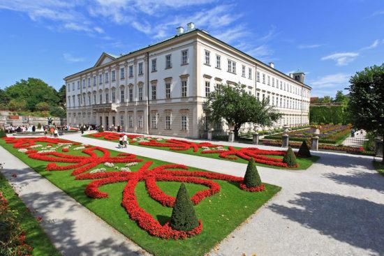 Schloss Mirabell - Ausflugsziele in Salzburg