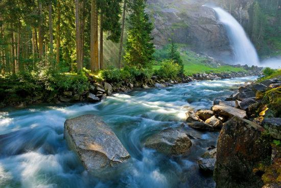 Krimmer Wasserfälle - Ausflugsziele im Salzburger Land