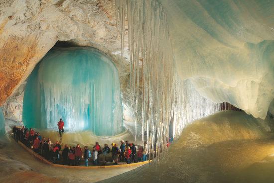 Eisriesenwelt Werfen - Ausflugsziele im Salzburger Land