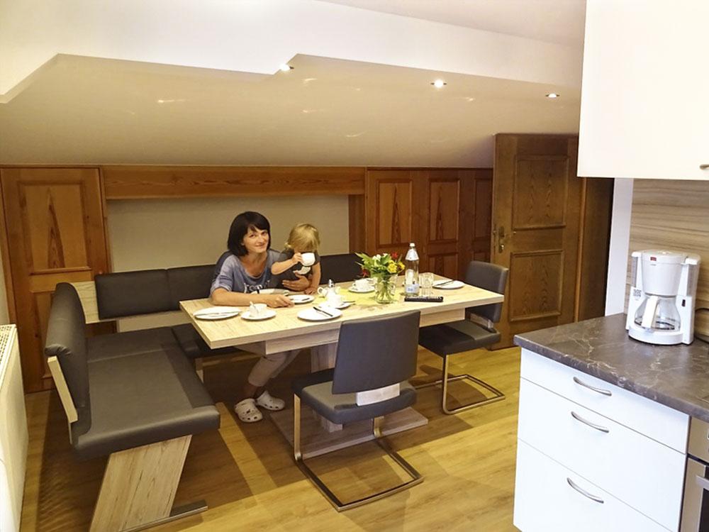 Komfortable ferienwohnung in radstadt 4 6 personen for Ferienwohnung juist 6 personen
