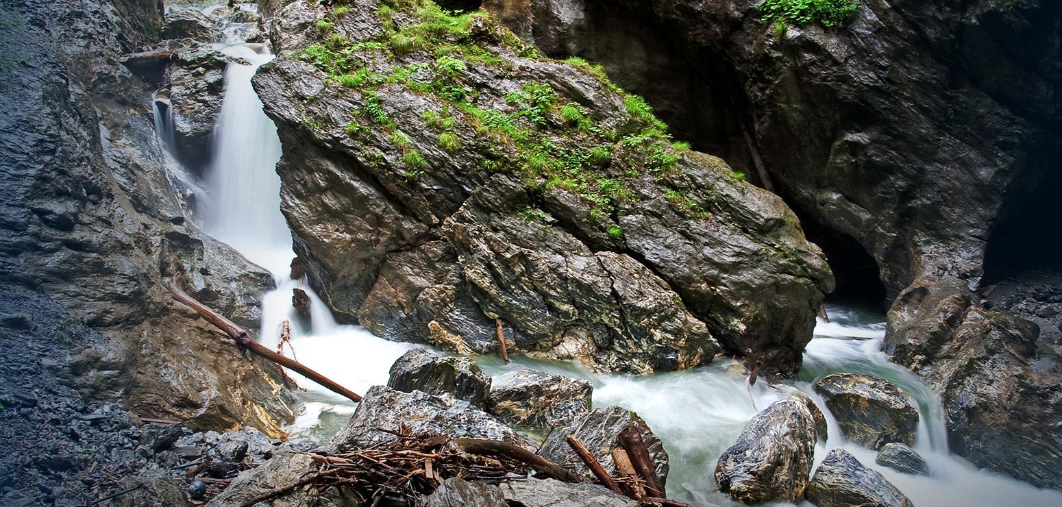Ausflugsziele im Salzburger Land - Liechtensteinklamm