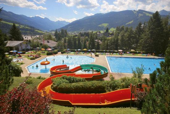 Alpenfreibad Radstadt - Sommerurlaub in Radstadt, Salzburg